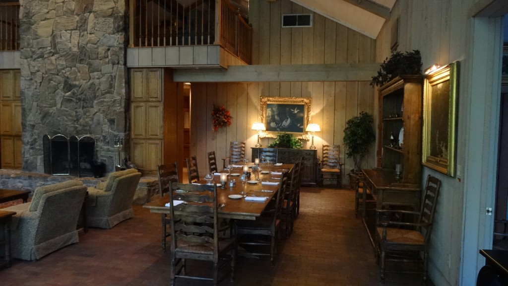 A Unique Hunting Lodge Dining Experience