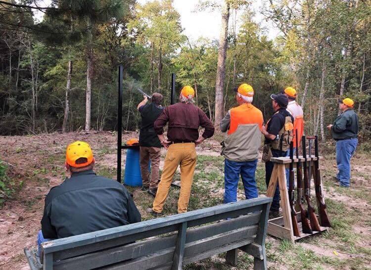 sporting clay shooting east Texas